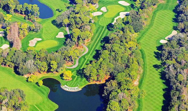 Innisbrook's Copperhead course looked great even before this year's project. (Innisbrook Resort)