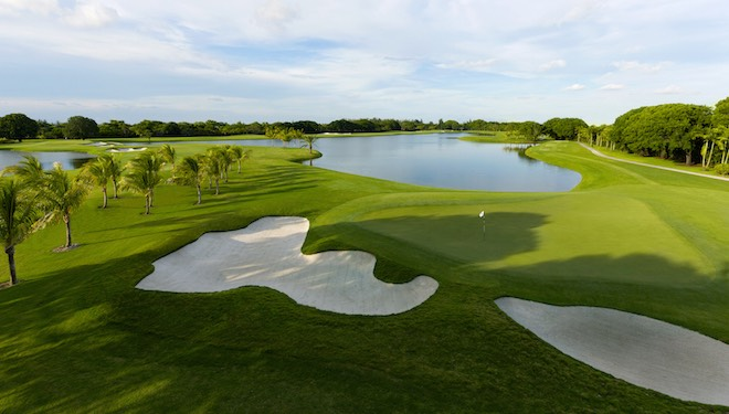 Trump National Doral's Golden Palm received the full-on Hanse treatment as well. (Trump National Doral)