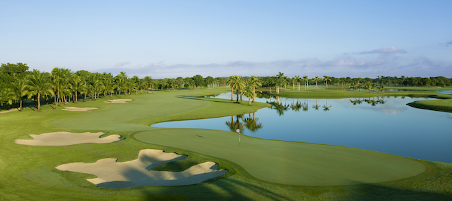 The 18th at Trump National Doral's Blue Monster. (Trump National Doral)