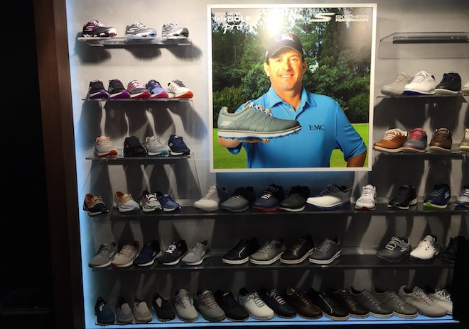 Long regarded as a casual shoe brand for kids, Skechers is breaking into the golf market with a number of comfy styles.