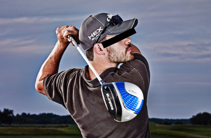 Scratch golfers aren't scary. They just hit the ball a little less often - that's all.
