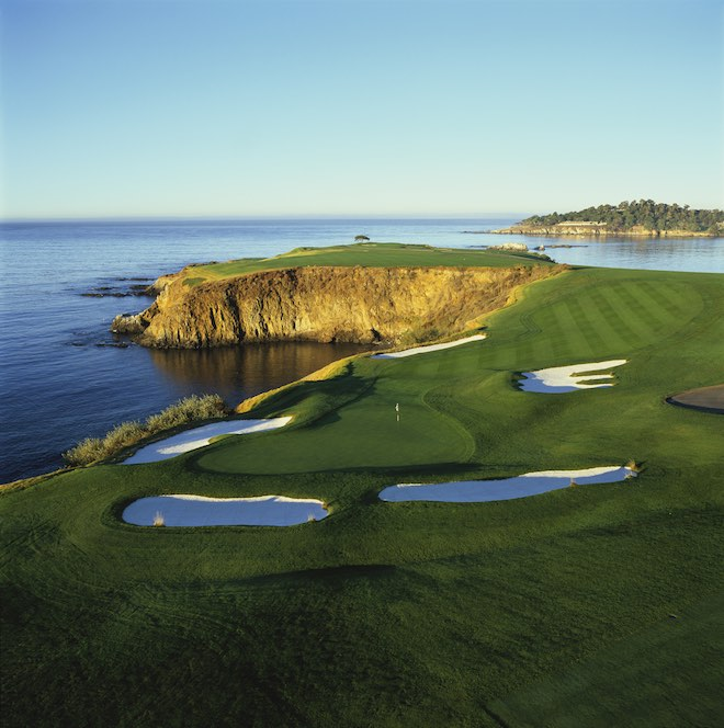The 8th at Pebble Beach Golf Links (Evan Schiller)