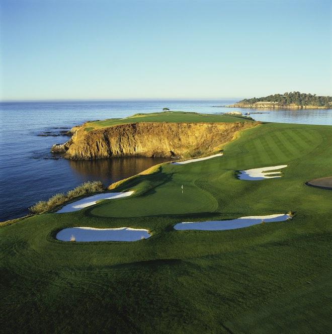 The 8th at Pebble Beach Golf Links (Evan Schiller)