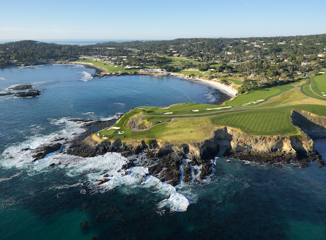 The combination of Pebble Beach's beauty and history lends a mystical charm to the place. (Evan Schiller)