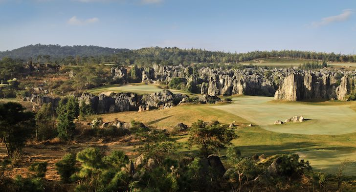 Stoneforest International has one of the world's unique settings for golf, and Lee Schmidt and Brian Curley to thank for its design. (Ryan Farrow)