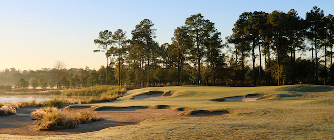 Eckenrode's Country Club of the Golden Nugget has an odd name, but an engaging, fun design. (Origins Golf Design)