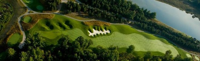 Tullymore is a funky-fabulous Jim Engh design. (Tullymore Golf Club)