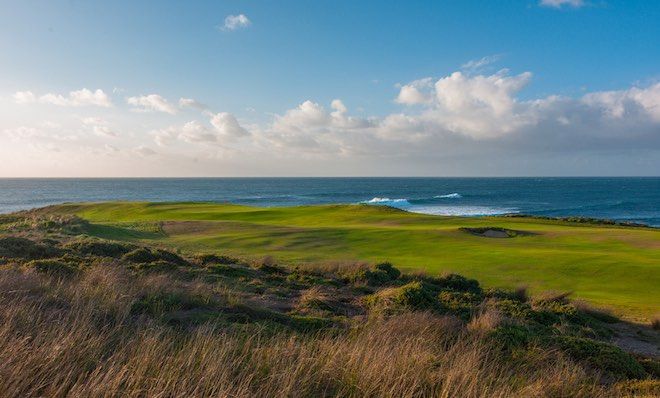 Remote, spectacular King Island is the setting for Cape Wickham, one of the most exciting new golf courses to be built in recent years. (Cape Wickham Golf Club)