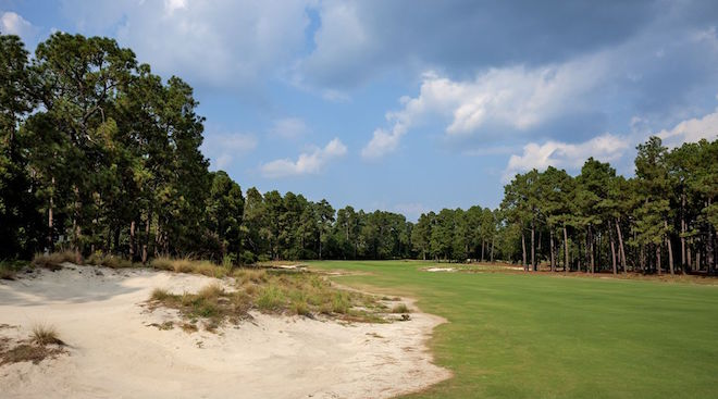 Pinehurst No. 2 traded acres of nasty rough for sand and scrub, and became more like Augusta National in the process. (Pinehurst Resort)