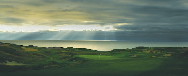 Pete Dye's storied career has resulted in a number of memorable courses, such as Whistling Straits. (Destination Kohler)