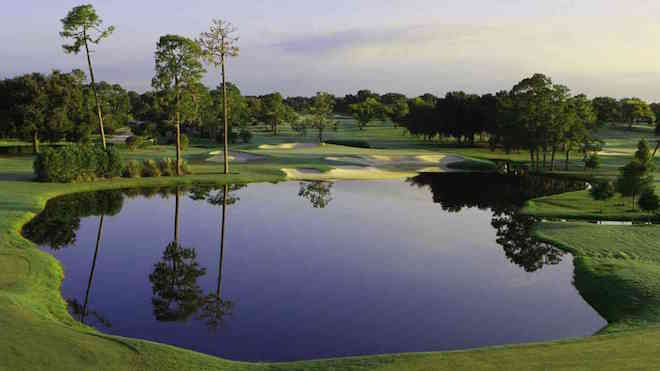Bay Hill's iconic par-3 17th. (Arnold Palmer Design)