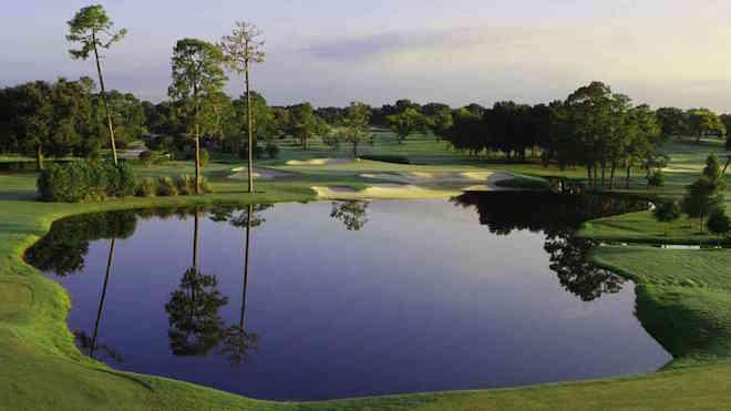Bay Hill's iconic par-3 17th. (Arnold Palmer Design)