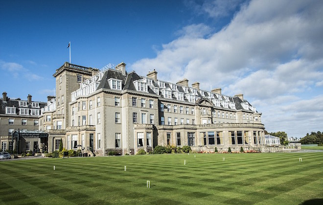 Whatever your opinion of the golf at Gleneagles, the hotel is phenomenal. (Gleneagles)