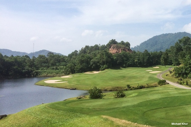 Thailand is a beautiful place to play golf. Just don't be overheard disparaging the royals.