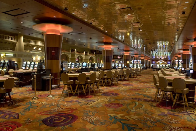 There are few bigger or more comprehensive casinos in the world than at Foxwoods. (Foxwoods Resort Casino)