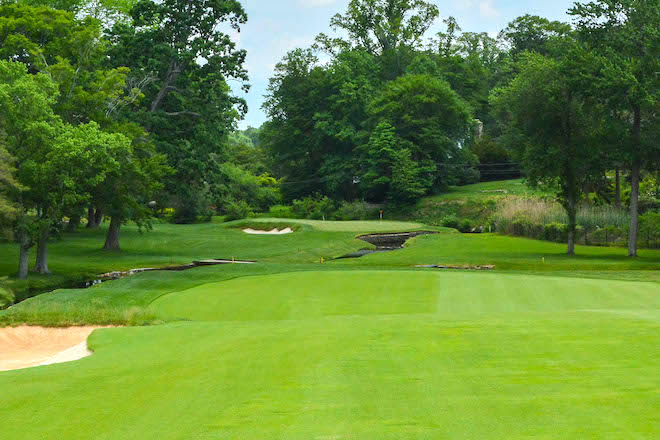 "Merion Golf Club's East Course is ranked #6 in America on Golf Digest's new ""America's 100 Greatest Courses"" list. (Sean Ogle/Breaking Eighty)"