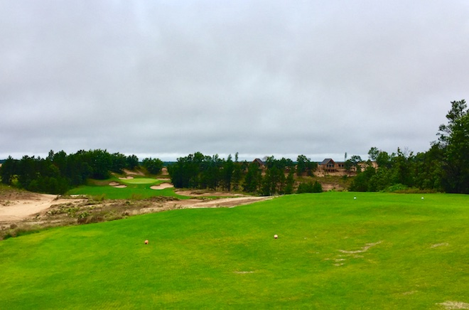 Look for the Coore-and-Crenshaw-designed first course at Sand Valley to start appearing on major rankings lists soon.