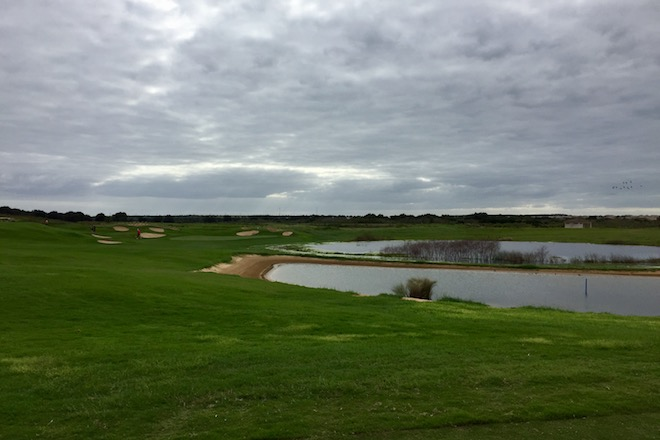 We played ChampionsGate's International Course shortly after it reopened, and the recaptured green edges have improved the course noticeably.