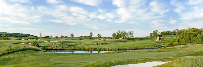 Whiskey Creek sits on rolling Maryland terrain. (StonehouseGolf.com)