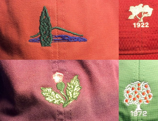 The Olde Farm's logo, a thistle, is a nod to the natural environment in which the course exists.