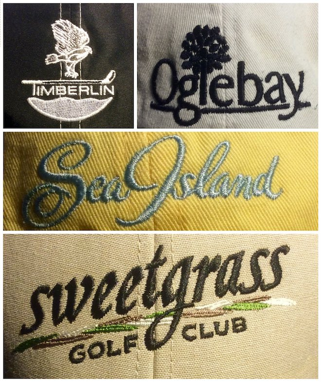 Sea Island is unusual in that its name and its logo are one and the same.