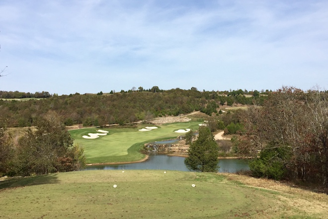 The 15th at Buffalo Ridge Springs is a fun down-then-up par four.
