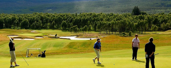 Spey Valley Golf Club (Visit Aviemore)