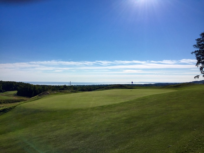 Greywalls is all about golf - and what a golf course it is, with heaving terrain and enchanting views of Lake Superior.