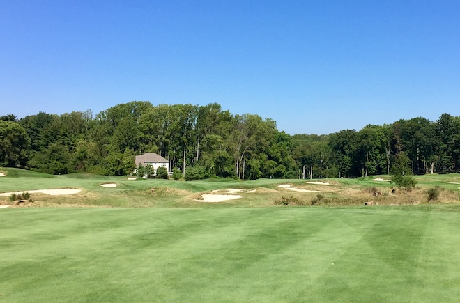 Weed's bunker shaping helps give the course a classic look and feel.