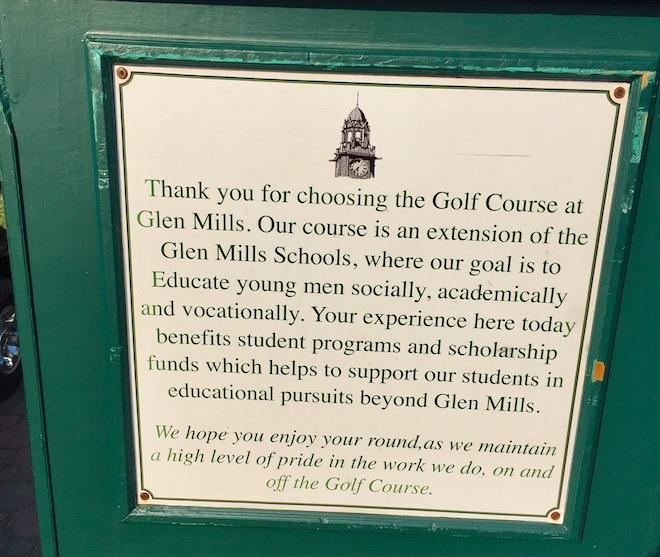 Gle Mills sign