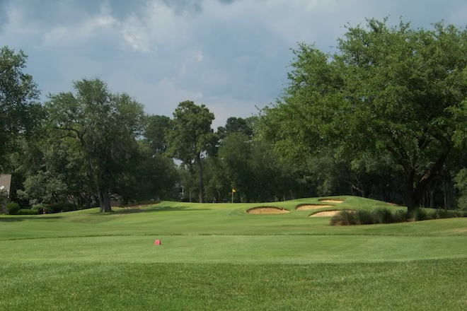 With Caledonia and True Blue nearby, Heritage flies under the radar, but it's very much a Strantz course, too.