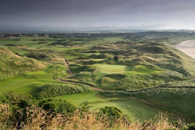 Cruden Bay is one of the many wild and wonderful courses on Scotland's east coast. (Visit Scotland)