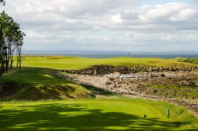 Kingsbarns is architect Kyle Phillips' masterpiece. It is one of the host courses for the Dunhill Links Championship on the European Tour. (Golf Scotland)