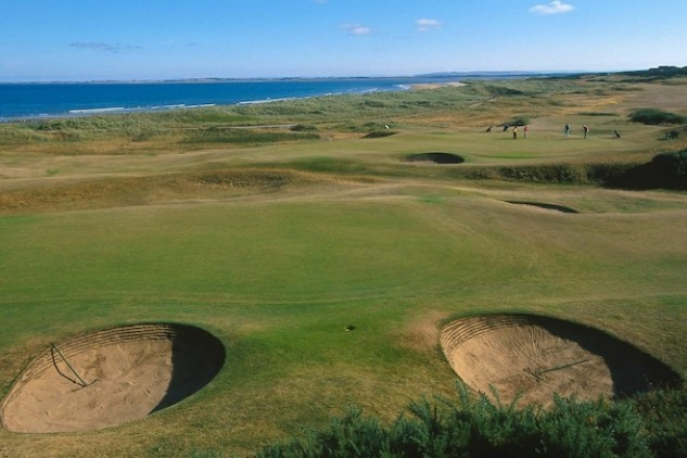 Royal Dornoch is one of the great links courses of Scotland, an inspiration to two of history's great architects. (Visit Scotland)