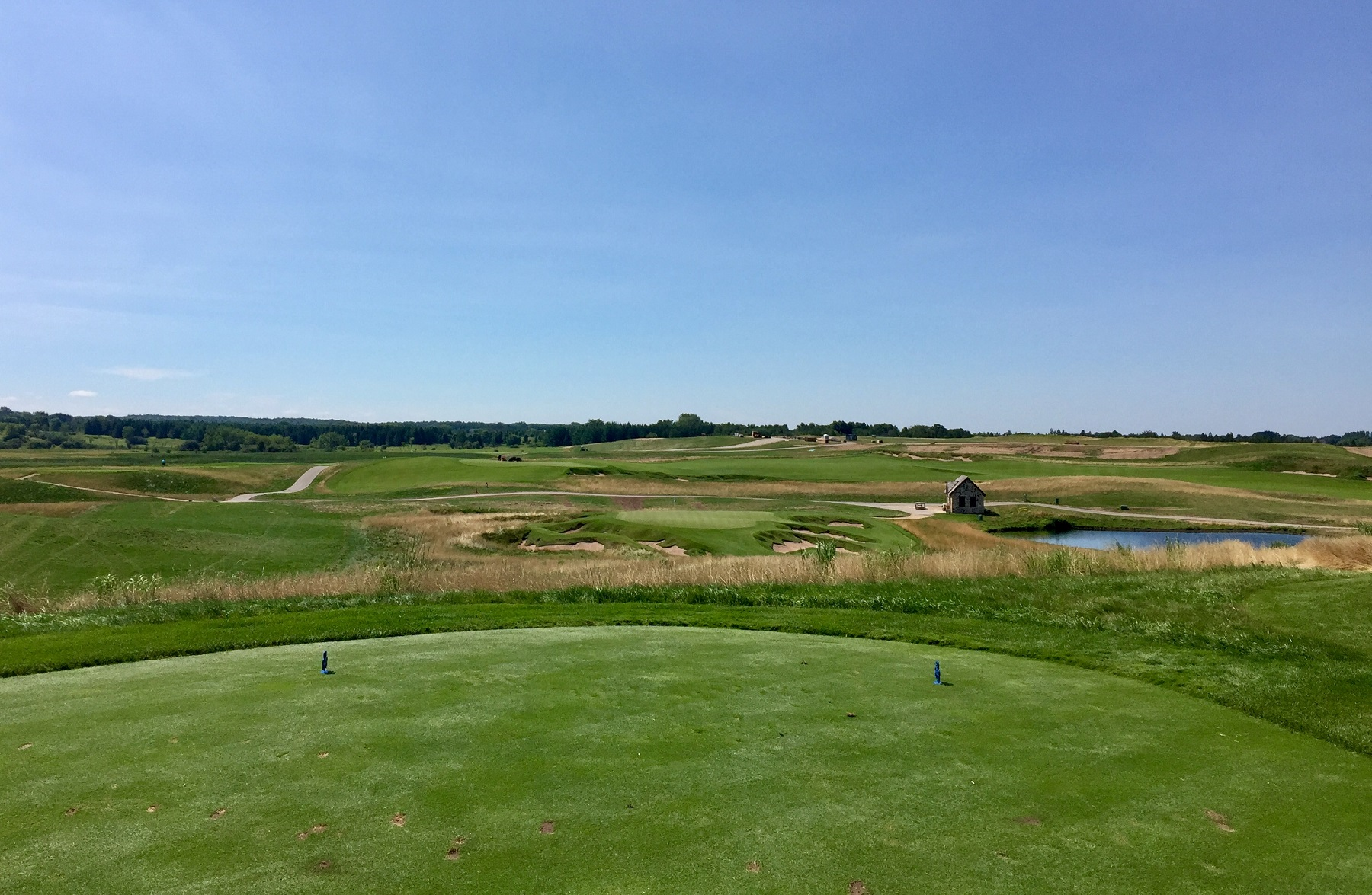 Erin Hills is long, yes, but its shortest hole, the ninth, may be its most beguiling.