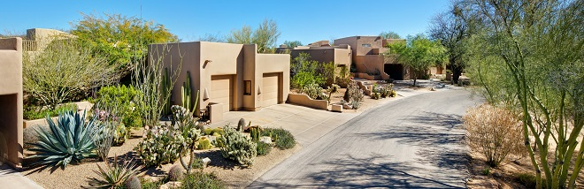 The distinctive look of the villas at The Boulders (The Boulders-