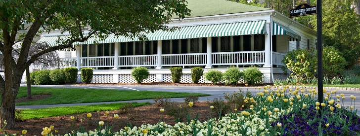 The Greenbrier's South Carolina Row cottages are some of the most historic accommodations on the property. (The Greenbrier)