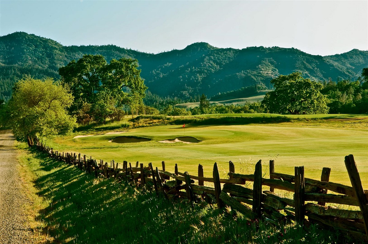 Aetna Springs brings Wine Country charm in spades and just more than 3,000 yards. (Aetna Springs Golf Course)