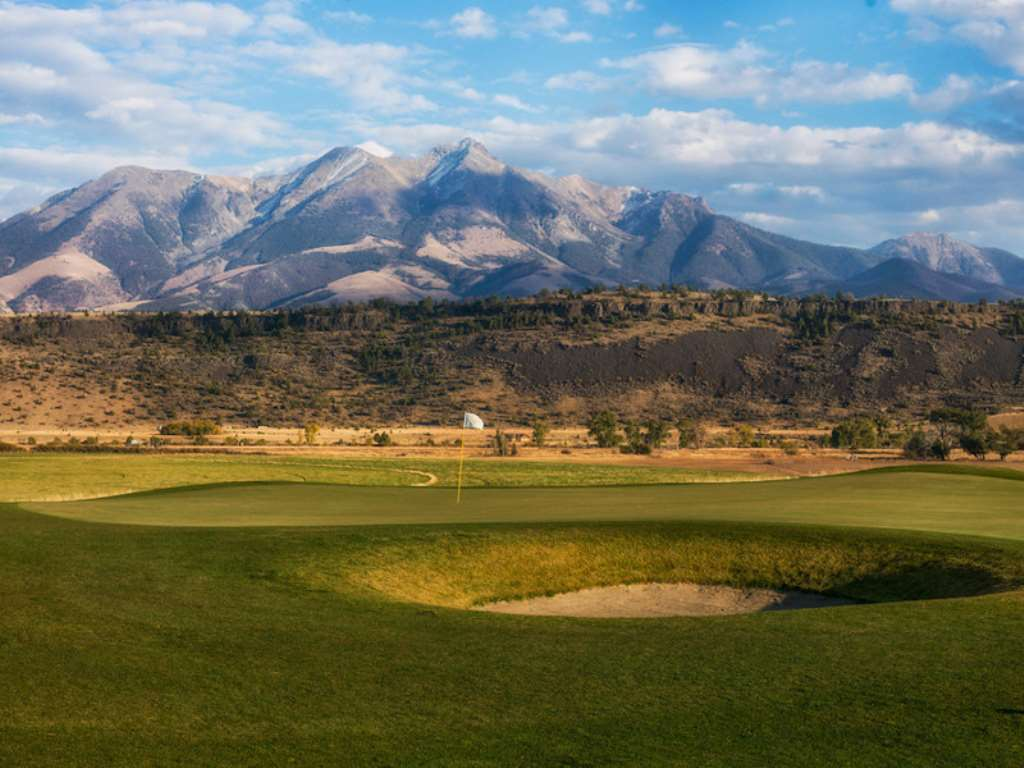 Who knew Big Sky golf could also come in a smaller package? (Mountain Sky Guest Ranch)