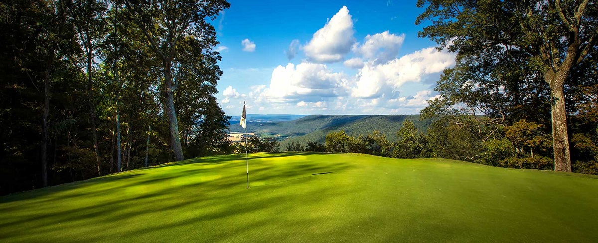 The Course at Sewanee boasts both a caring renovation by Gil Hanse and some lovely views. (Sewanee: The University of the South)