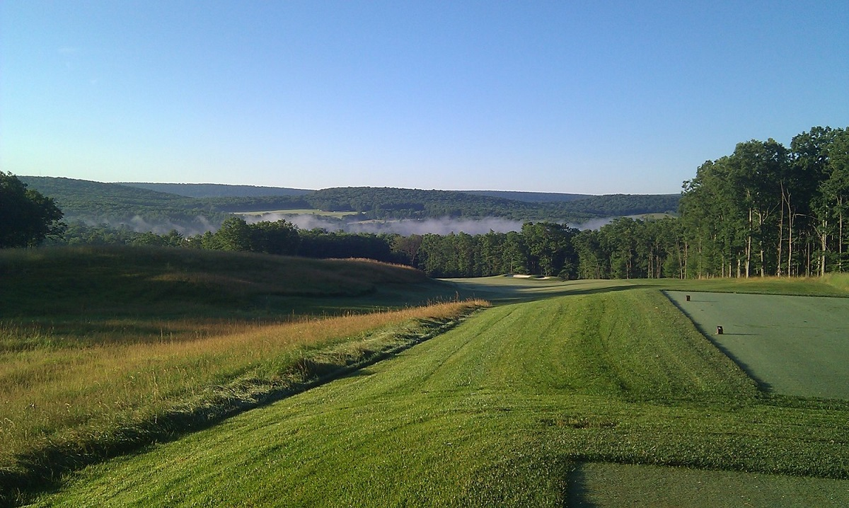 Thousand Acres is a rare nine-holer with a big, open feel. (Thousand Acres Golf Club)
