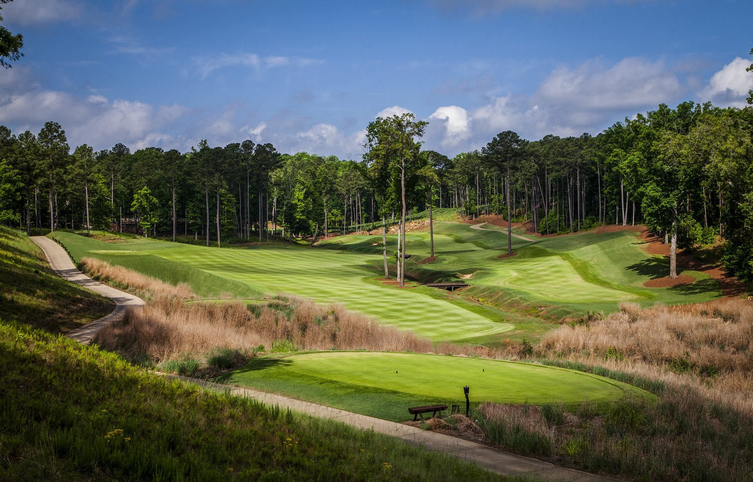 Few inland American golf courses are more visually intriguing than The Creek Club. (Reynolds Lake Oconee)