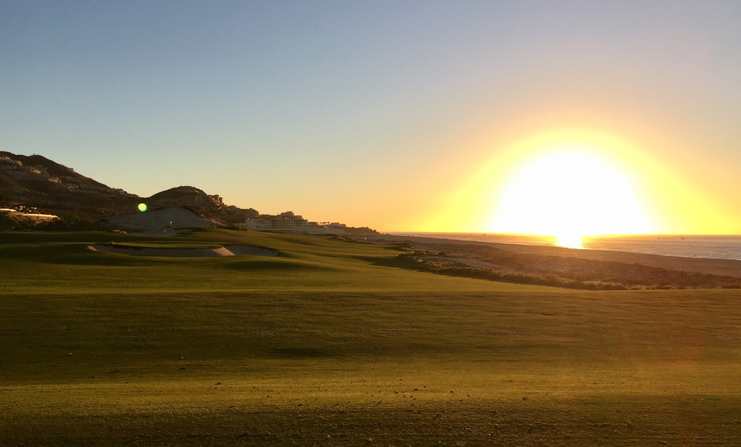 It's hard to beat a sunrise practice session at Quivira.