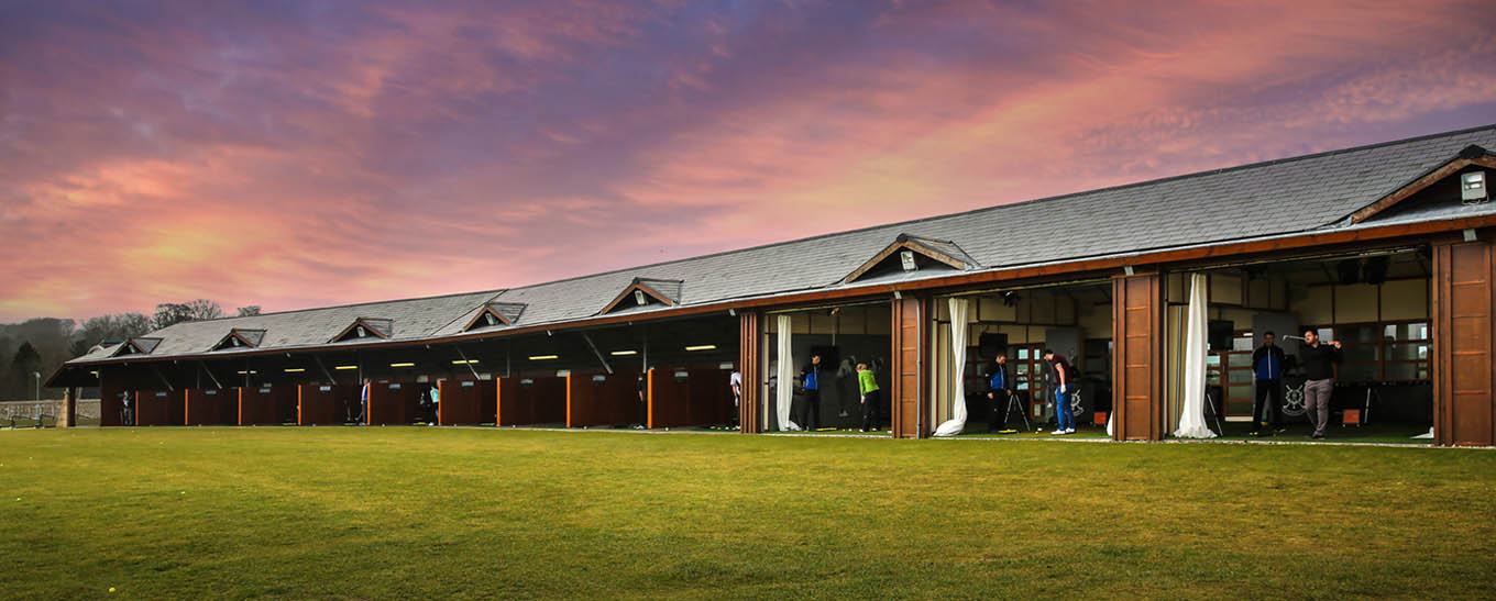 St. Andrews' sheltered hitting bays provide protection from the elements. (St. Andrews Links)
