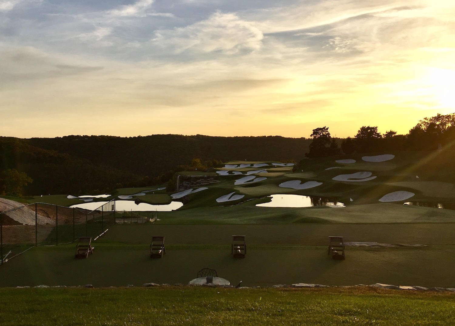 Sunset at Top of the Rock is one of the best practice settings we've ever seen.