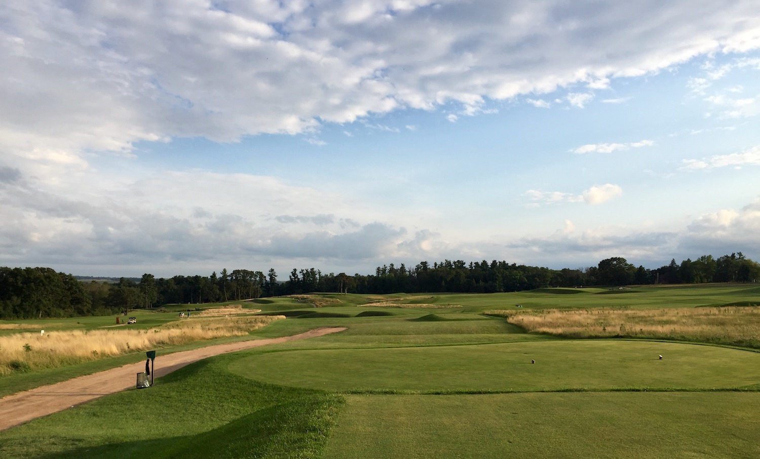 Lawsonia Links is a Langford & Moreau masterpiece in central Wisconsin...but it's not quite a links, because it's far from the sea.