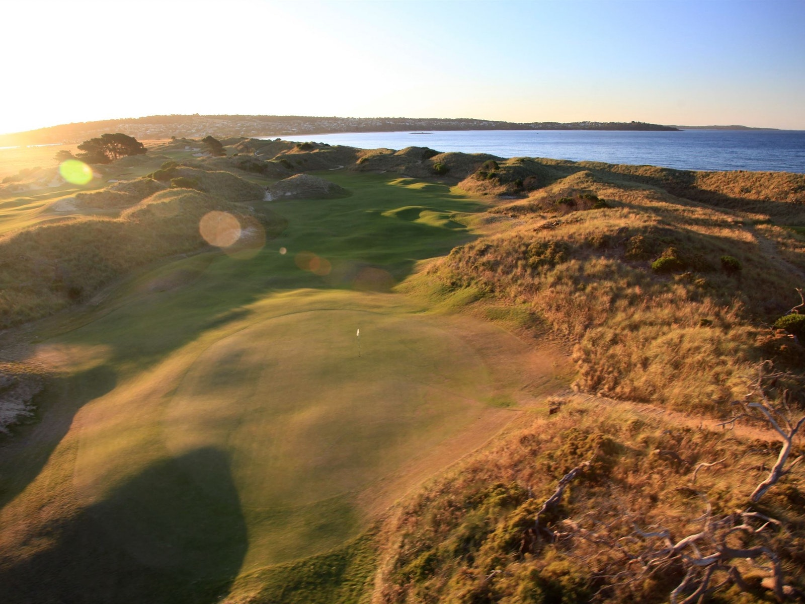 Barnbougle Dunes in Tasmania is one of Australia's true links courses.