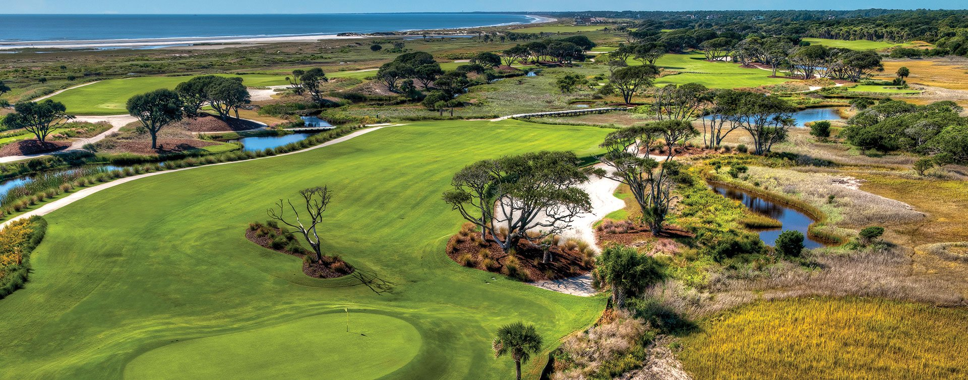 Strictly speaking, Kiawah Island's Ocean Course is not a links. But it's still a spectacular bucket-list golf course. (Kiawah Island Resort)