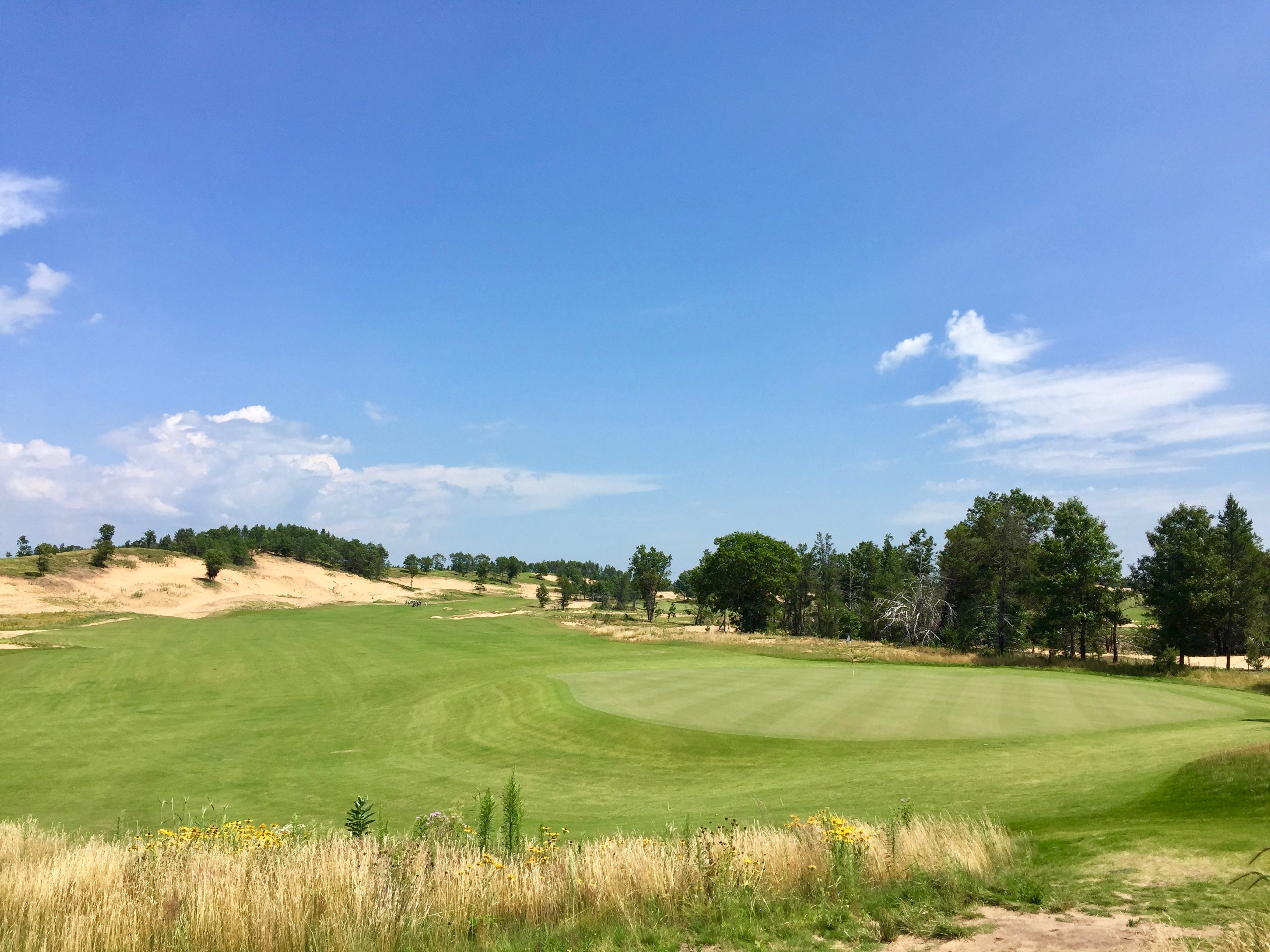 Sand Valley is one of the newest examples of how sublime golf can be on a naturally sandy site.