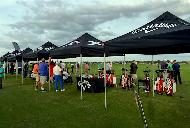 Callaway always turns out in force for Demo Day.